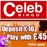 Celeb Bingo- amazing bingo sites