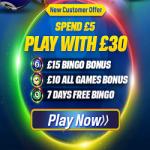 Coral Bingo- amazing bingo sites