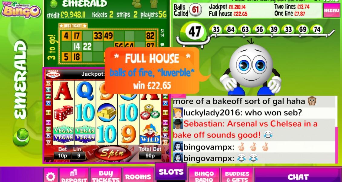 Mfortune bingo play online